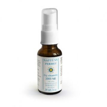 Napfény Permet - D3 2000 NE vitamin borsmenta illóolajjal