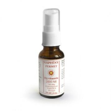 Napfény Permet - D3 2000 NE vitamin narancs illóolajjal