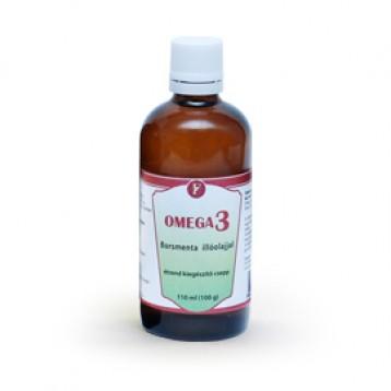 Omega3 - borsmenta illóolajjal